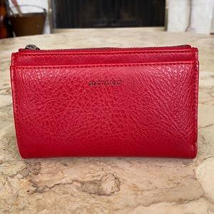 NWOT Matt & Nat Vegan Red Leather Wallet